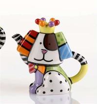Romero Britto Mini Teapot Dog #331824