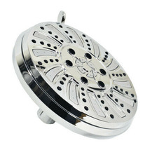 """Chrome Plated 6 Function Shower Head 6.25"""" Face 1.8GPM - $28.44"""