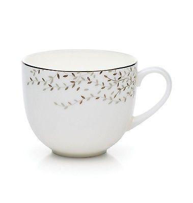 Mikasa Shimmer Vine Teacup, 10-Ounce