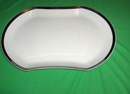 "Mikasa Bone China Solitude Oval 14 5/8"" Serving Tray Platter AS-166 NICE - $64.35"