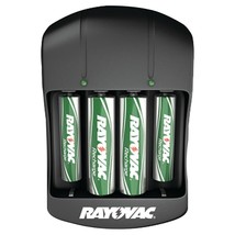 Rayovac Value Charger With 2 Aaa & 2 Aa Ready-to-use Rechargeable Batter - $27.36