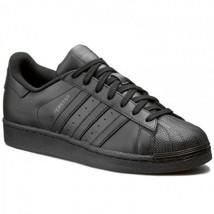 Adidas Originals Superstar Foundation All Black AF5666 Leather Men Shoes - $74.95