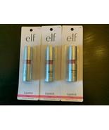 e.l.f. Long Lasting Color and Shine Lipstick ~ Classy #7702 ~NEW 3PK FRE... - $29.69