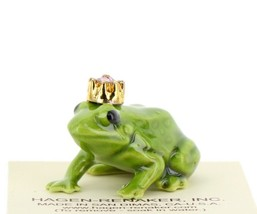 Birthstone Frog Prince June Simulated Alexandrite Miniatures by Hagen-Renaker