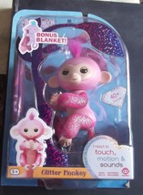 NEW WowWee Glitter Fingerling Rose with Free Blanket - $24.30