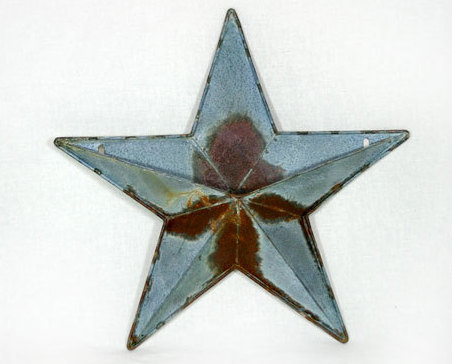 Galvan tin star pocket