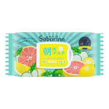 BCL Saborino Morning Care 3-in-1 Face Mask (Grapefruit & Lime) 32sheets