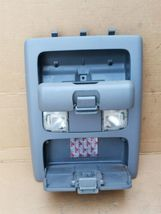 05-08 Toyota Tacoma Overhead Console Map Dome Lights Storage image 11