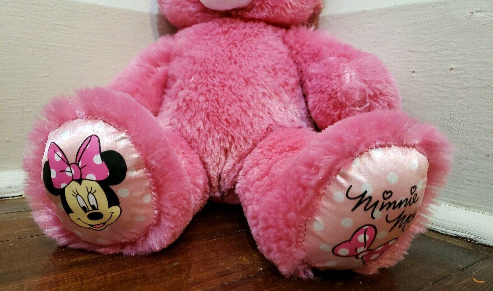 "Build A Bear 16"" Pink Minnie Mouse Plush"