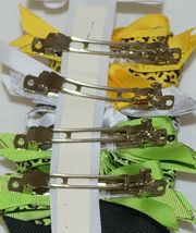 Unbranded Wholesale Lot 18 Bows Assorted Colors Bow Hanger Included image 4