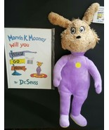 Dr Seuss Book & Plush Set Marvin Mooney Will you Please Go now  - $15.83
