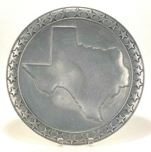 """Wilton Armetale 15.5"""" Large Round Platter Texas State With Stars Serving... - $40.19"""