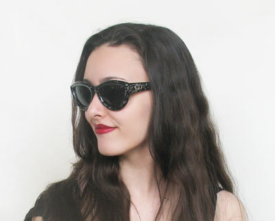 Dior 2907 New Vintage Cat Eye Sunglasses