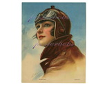 Bob vintage rare pinup aviatrix fine flapper 1918 sky pilot beauty by emma musselman bonanza thumb155 crop