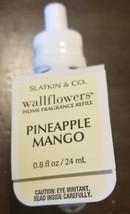 NEW Bath & Body Works Wallflowers PINEAPPLE MANGO Fragrance Refill Bulb - $8.59