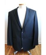 Lauren Ralph Lauren 44R Black 100% Wool Two Button Blazer Suit Jacket - $52.72