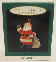 Hallmark Miniature Ornament Jolly Visitor - 1994 - $8.00
