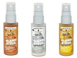 Genuine Schwarzkopf got2b GO N GLOW hair and body glitter spray 50 ml sk... - $15.50