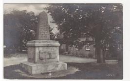 Kornung Oscar I Monument 1846-1848 Hven Sweden real photo postcard - $5.94