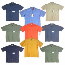 Dickies Short Sleeves Men's Shirt, Assorted Colors, Limited Sizes - €21,21 EUR