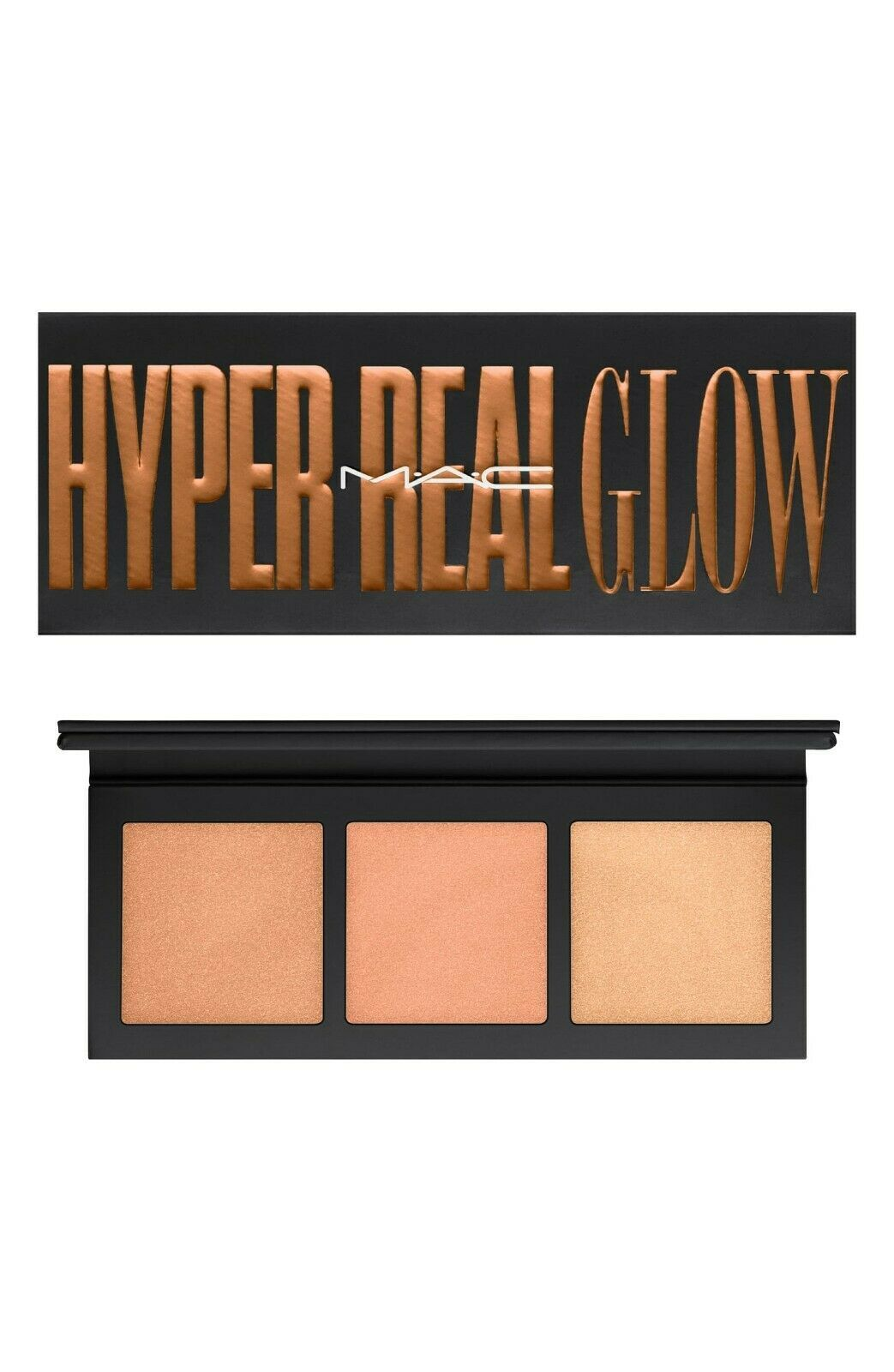 "MAC Hyper Real Glow Palette Get It Glowin' Large 6"" X 2 1/2"" size NIB Great Item - $16.81"