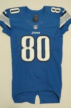 2012 Brian Robiskie Game Used Worn Detroit Lions Nike Football Jersey Ohio State - $280.49
