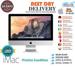 "Apple iMac 21.5"" A1311 intel Core i7 2.8GHz 8GB RAM 500GB HDD Mid 2011 A... - $545.40"