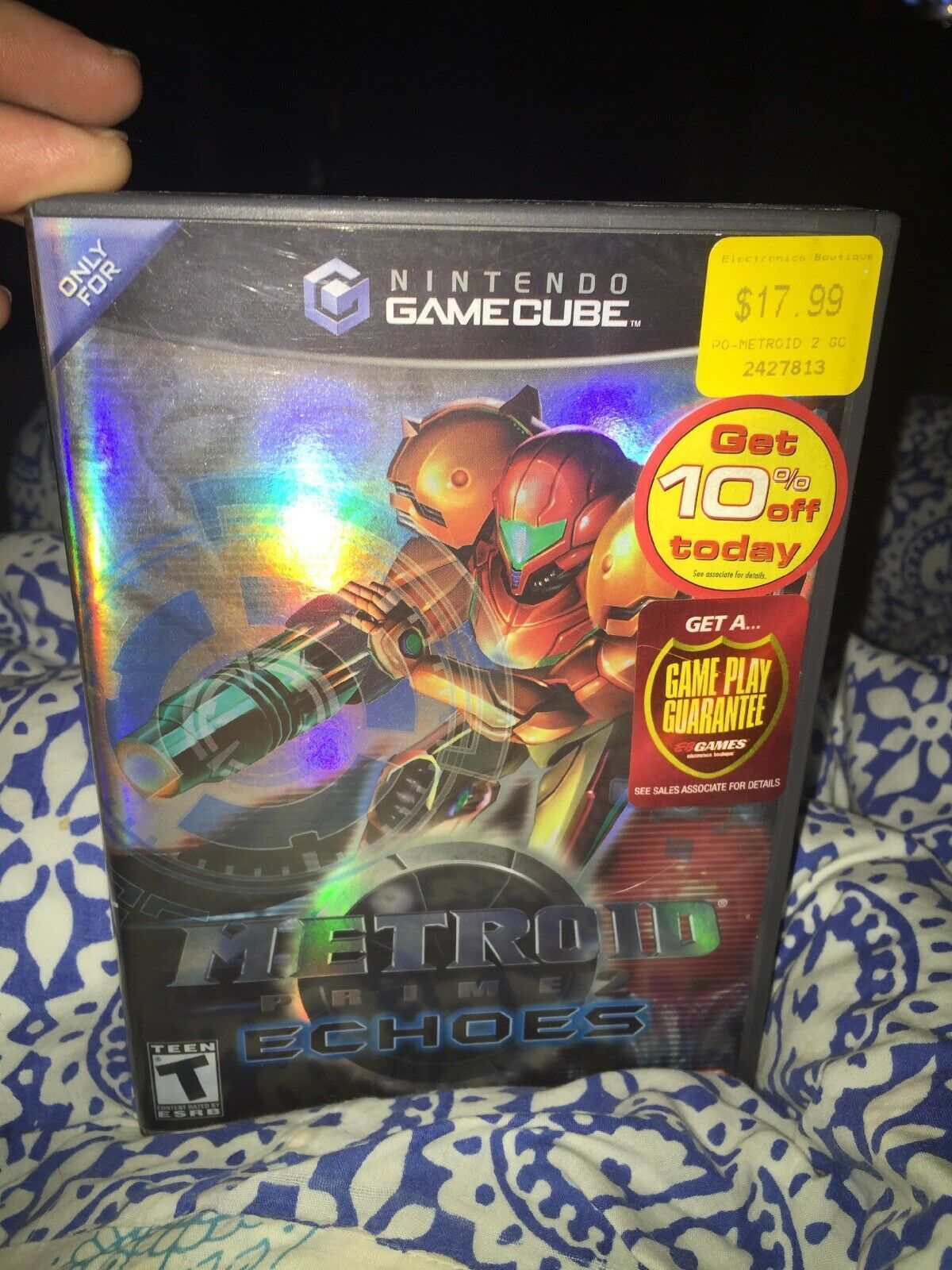 Primary image for Metroid Prime 2: Echoes (Nintendo GameCube, 2004) Complete
