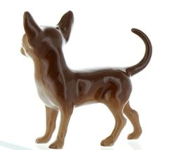 Hagen Renaker Pedigree Dog Chihuahua Large Brown and White Ceramic Figurine image 8