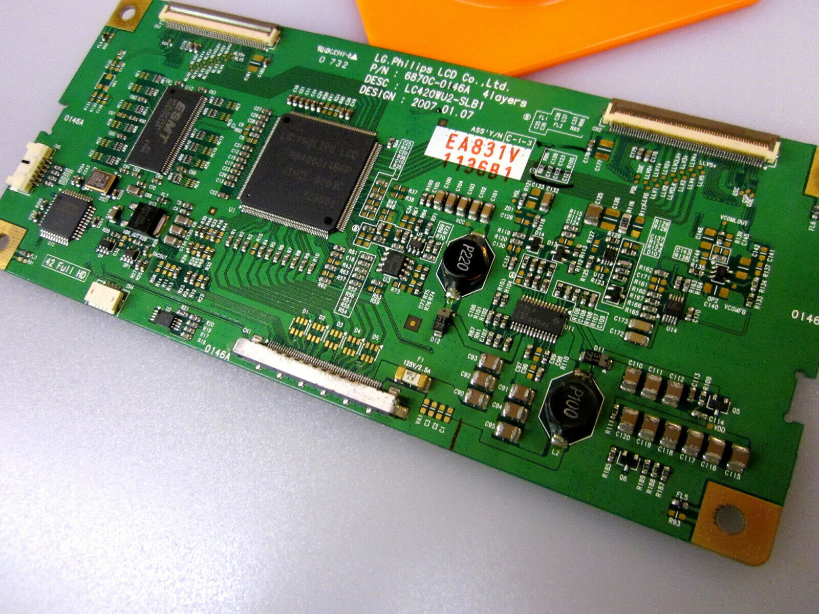 LG Philips 6871L-1136B T-Con Board [See List]
