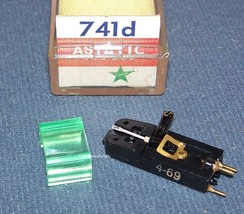ASTATIC 741d Euphonics U19-11 PHONOGRAPH CARTRIDGE NEEDLE Emerson 820105 image 1