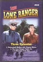 The Lone Ranger - 3 Episodes (DVD)