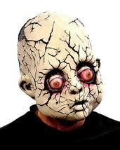 **Halloween**  Crack Baby Creepy Halloween Mask  **Free Shipping** - £37.38 GBP