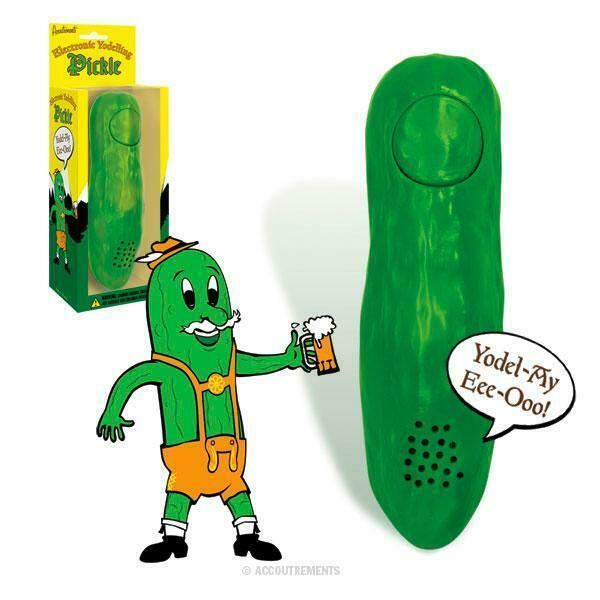 Primary image for Life Size Electronic Yodelling Pickle!