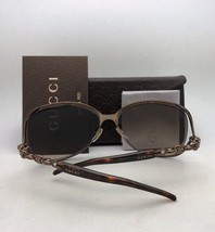 New GUCCI Sunglasses GG 4263/S LOZHA 60-14 140 Brown & Gold w/ Brown Gradient