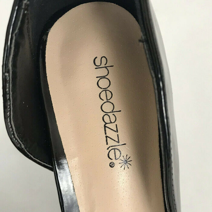 "Shoedazzle Womens Shoes Size 8 Black Patton Stiletto 4.5"" Heel Pointed Toe Pump image 5"