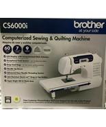 Brother -CS6000i - 60-Stitch Computerized Sewing Machine - $277.15