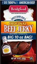 BRIDGFORD Sweet Baby Ray's Original Beef Jerky, 10 Oz Jumbo Bag