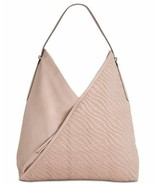 INC International Concepts I.N.C. Blakke Woven Hobo (Blush) - $74.25