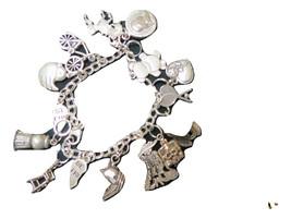 Sterling Silver charm bracelet image 1