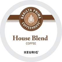 Barista Prima Coffeehouse House Blend Coffee 24 to 144 K cup Pod Pick Any Size - $25.98+
