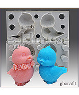egbouse Silicone Mold, Birdie Duo (2 in 1) - 3D, Candle, Soap, Plaster mold - $49.49