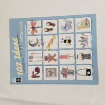 102 Ideas for 3-D Embellishments by Hot Off the Press Staff 2002 Paperba... - $9.88