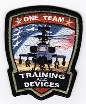 Us Army One Team Apache Patch Velco Training & Devices New!!! - $11.87