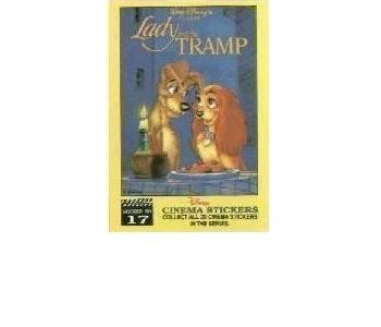 LADY & THE TRAMP lot BANK/magnet Walt Disney