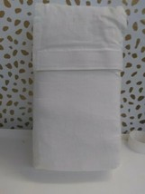 Simply Shabby Chic- White Embroidered Bedskirt Twin, White  -15'' DROP -   image 2