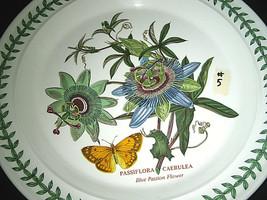 """Portmeirion Botanic Garden Dinner Plate Blue Passion Flower 10 1/2"""" #5 Excelnt - $24.99"""