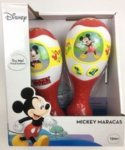 Disney Mickey Mouse Musical Maracas Gift Plays Songs Clubhouse Theme & H... - $13.12