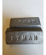Lyman Lead For Casting Ingots approx 1 pound 12 Ounces Total  - $4.99