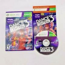 Kinect Dance Central 3 Video Game (Microsoft Xbox 360, 2012) Complete Manual CIB - $11.83